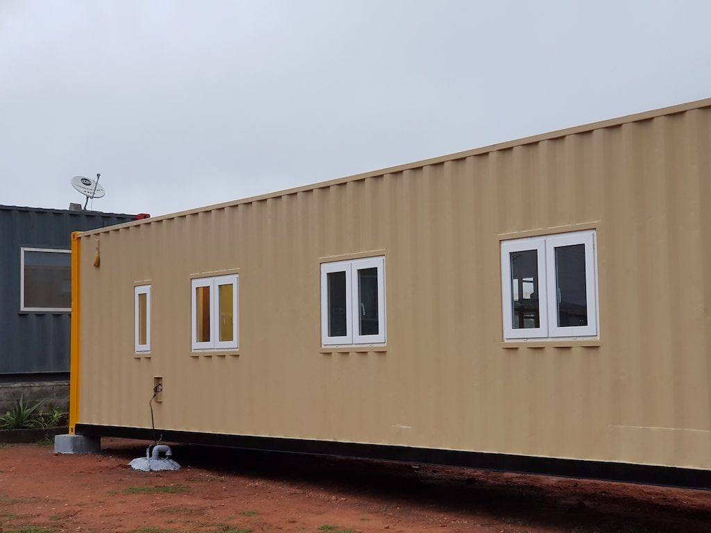 Accomodation in container 13