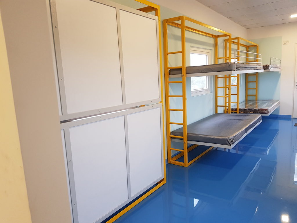 Accomodation in container 2