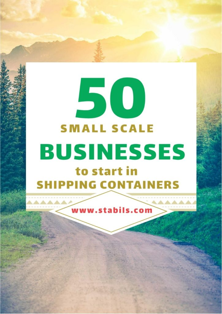 50 small scale Business to start in shipping containers